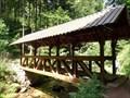 Image for Überdachte Holzbrücke - Baden Baden, BW, Germany