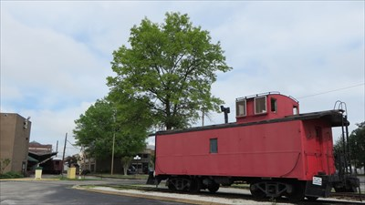 veritas vita visited Caboose at the Chattanooga Choo Choo