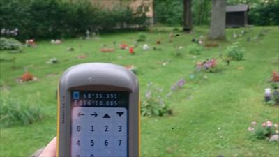 Med GPS:en