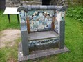 Image for Consall Forge Community Seat - Consall, Wetley Rocks, Stoke-on-Trent, Staffordshire, UK.