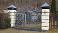 Image for Gate to the garden of Schloß Obernitz - Saalfeld/ Thüringen/ Obernitz