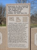 Image for Pioneers and Homesteaders - Lovell, OK