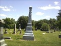 Image for N P Hunt - Miltonville Cemetery - Trenton, Ohio