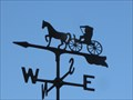 Image for Horse & Buggy Weathervane - New Almaden, CA