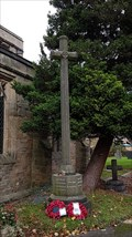 Image for Combined WWI / WWII memorial cross - St George - Barton in Fabis, Nottinghamshire