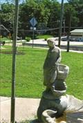 Image for Water Girl, daydreaming - Lichtenberg Memorial Park, Marthasville, MO