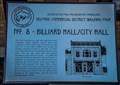 Image for Billiards Hall/City Hall - Spearfish, South Dakota