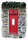 Image for Victorian Post Box - Lower Road, Temple Ewell, Kent.