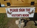 Image for First Lobo Cemetery Visitor Book - Middlesex Centre, Ontario, Canada
