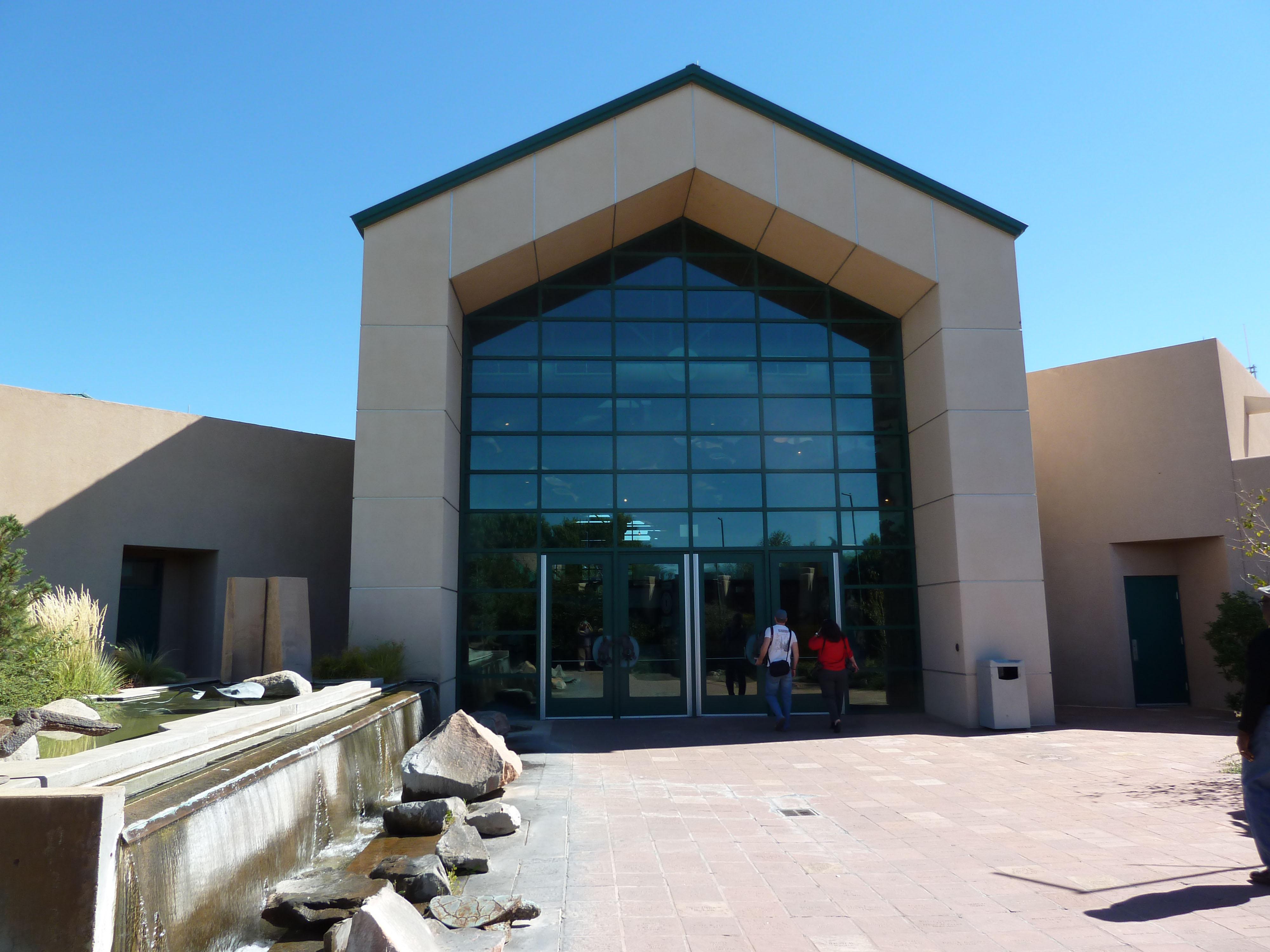... and Pavers Waymark - Albuquerque Aquarium - Albuquerque, New Mexico