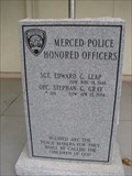 Image for Merced Police Department Memorial  - Merced, CA