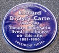 Image for Richard D'Oyly Carte - Guildford Street, London, UK