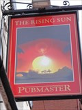Image for The Rising Sun – The Sun – Manchester, UK