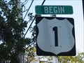 Image for Florida Keys Scenic Highway - Begin - Key West, Florida, USA.