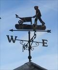 Image for Gardener Weathervane, RHS Garden Hyde Hall, Creephedge Lane, Rettendon, Chelmsford, Essex.