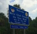 Image for Georgia Welcome Sign - Kingsland, GA