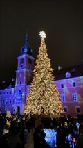 Image for Christmas Tree on Castle Square - Warsaw, Poland