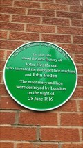 Image for John Heathcoat lace factory - Market Street - Loughborough, Leicestershire