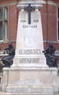 Image for WWI Memorial, Town Hall, Croydon, Surrey UK