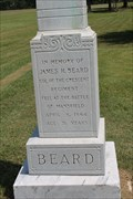 Image for James H. Beard Monument - Mansfield, LA