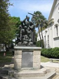 Image for Memorial to Father Pedro Camps - St Augustine, FL