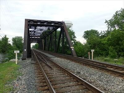 Monroe CSX Railroad Bridge - Michigan, USA  - Truss Bridges