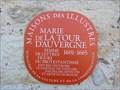 Image for Marie de la Tour d'Auvergne - Thouars,France