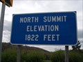 Image for North Summit Elevation 1822 Feet - Panic, Pennsylvania