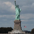 Image for Statue of Liberty and The Statue of Liberty Nebula, New York, USA