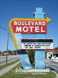 Image for Boulevard Motel Sign - Deland, FL