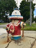 Image for Patriotic Parade of Painted Hydrants, No. 5 - Cumberland, Rhode Island