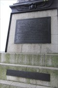 Image for 4 Plaques -- Cleopatra's Needle, Victoria Embankment, Westminster, London, UK
