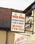 Image for Wong Wong Fish & Chips, Station Road, Weston Rhyn, Shropshire, England, UK