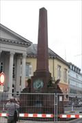 Image for Großherzog-Karl-Denkmal (Verfassungssäule) - Rondellplatz/Karlsruhe