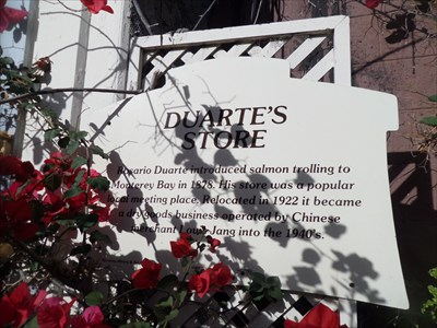 Duarte's Store - Monterey, California - Signs of History on