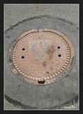 Image for Manhole Cover - Moravská Trebová - Boršov, Czech Republic