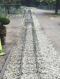 Tracks Leaving the Station, Austin, Texas