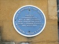 Image for Blue plaque, 16th Century Grammar School Porch