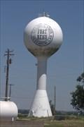 Image for Fort Reno water tower - Fort Reno, El Reno Oklahoma USA