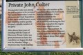 Image for Private John Colter - New Haven, MO