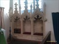 Image for Piscina and Sedilia, St Mary Magdalene - Bildeston, Suffolk