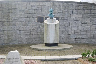 Thomas D'Arcy McGee - Carlingford Ireland - Statues of