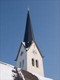 Image for Glockenturm der Wallfahrtskirche Maria Stern und St. Johann Baptist - Neukirchen am Simsee, Riedering, Lk Rosenheim, Bayern, D