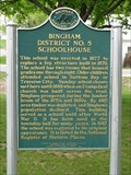 Image for Bingham District No. 5 Schoolhouse