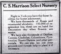 Image for C. S. Harrison Select Nursery -- York, NE -- 1914