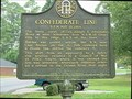 Image for Confederate Line at Cassville GHM 008-23-Bartow County