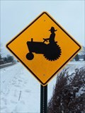 Image for Farmer and Tractor Crossing - Holland, Michigan
