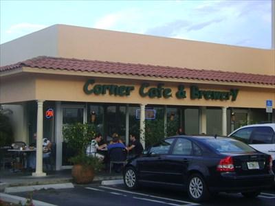 The Corner Cafe Brewery Tequesta Fl