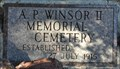 Image for A. P. Windsor II Memorial Cemetery