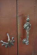 Image for Swan and Cockerel Door Handles - Dom - Trier, Germany